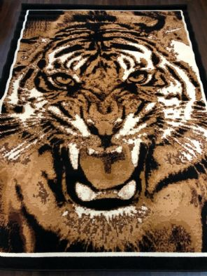 Modern Approx 8x5ft 160x230cm Woven Backed Tiger Design Quality rugs Bargains